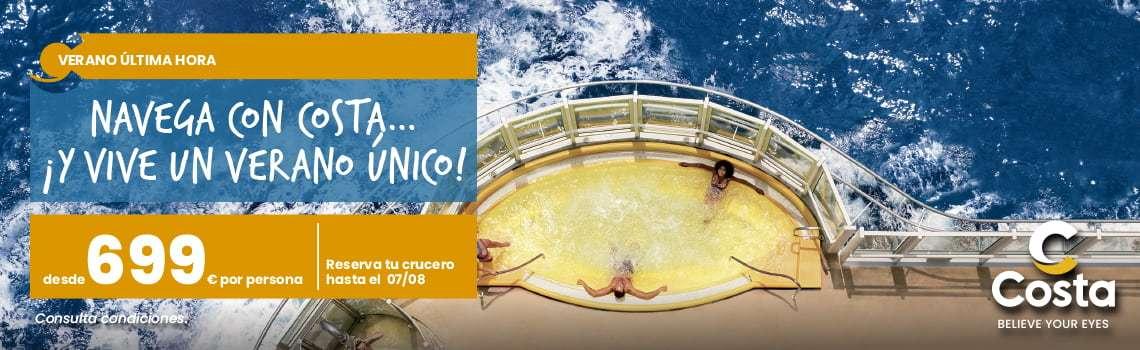 Costa Cruceros oferta balcón