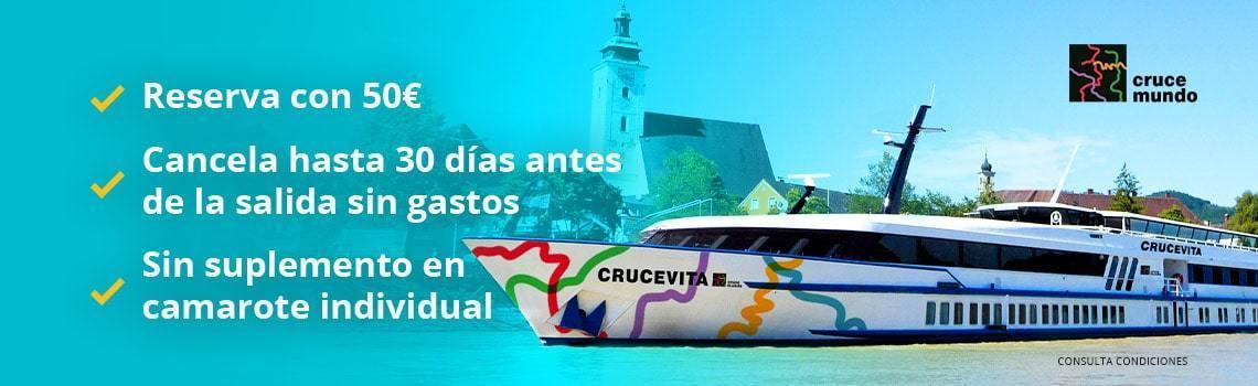 Ofertas Cruceros fluviales