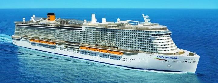 Imagen del barco Costa Smeralda