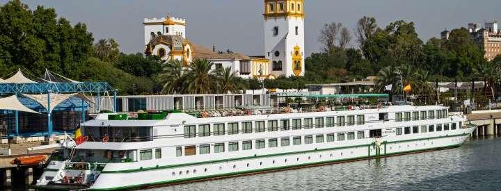 Imagen del barco La Belle de Cadix