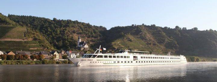 Imagen del barco MS Douce France
