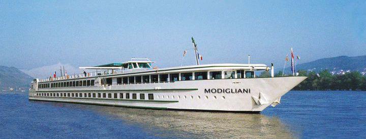 Imagen del barco MS Modigliani