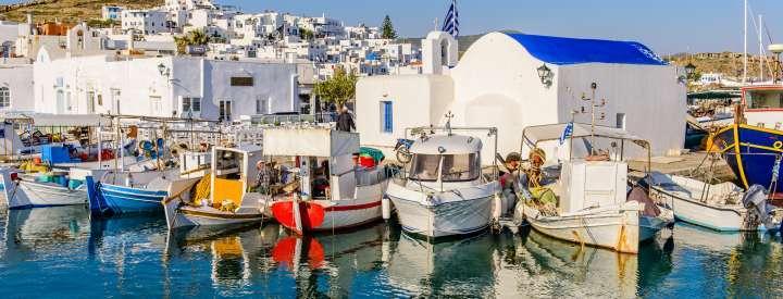 Barco Islas Griegas