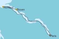 Visitando Paris (Francia)Honfleur (Francia), Honfleur (Francia), Rouen (Francia), Rouen (Francia), Paris (Francia), Paris (Francia)
