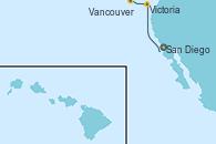 Visitando San Diego (California/EEUU), Victoria (Canadá), Vancouver (Canadá)