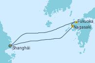 Visitando Shanghái (China), Nagasaki (Japón), Fukuoka (Japón), Shanghái (China)