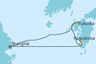 Visitando Shanghái (China), Fukuoka (Japón), Kagoshima (Japón), Shanghái (China)