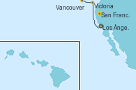 Visitando Los Ángeles (California), San Francisco (California/EEUU), Victoria (Canadá), Vancouver (Canadá)
