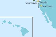 Visitando Vancouver (Canadá), Victoria (Canadá), San Francisco (California/EEUU)