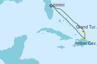 Visitando Puerto Cañaveral (Florida), Grand Turks(Turks & Caicos), Amber Cove (República Dominicana), Puerto Cañaveral (Florida)