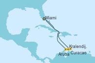 Visitando Miami (Florida/EEUU), Kralendijk (Antillas), Curacao (Antillas), Aruba (Antillas), Miami (Florida/EEUU)
