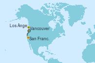 Visitando Los Ángeles (California), San Francisco (California/EEUU), Vancouver (Canadá), Vancouver (Canadá)