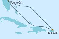 Visitando Puerto Cañaveral (Florida), San Juan (Puerto Rico), Puerto Cañaveral (Florida)