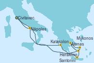 Visitando Civitavecchia (Roma), Nápoles (Italia), Civitavecchia (Roma)