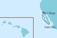 Visitando San Diego (California/EEUU), Cabo San Lucas (México), San Diego (California/EEUU)