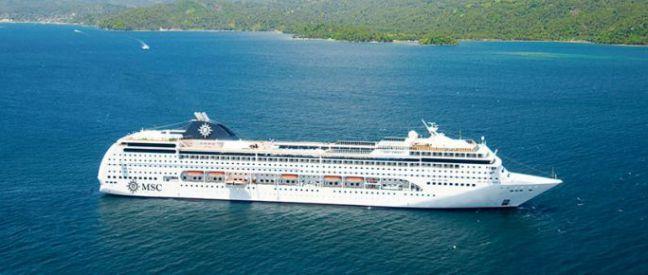 Imagen del barco MSC Lirica
