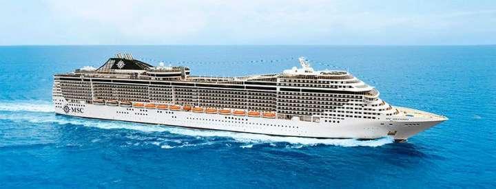 Imagen del barco MSC Splendida
