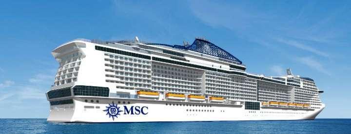 Imagen del barco MSC Meraviglia