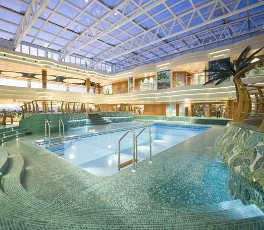 piscina i tropici