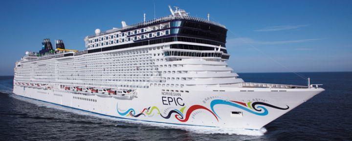 Crucero Mediterraneo desde Barcelona Epic