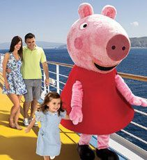 Ventaja: Peppa Pig a bordo